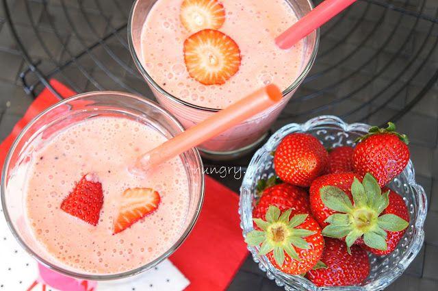 Kitchen Stori.es: Smoothie Φράουλας & Τζίντζερ