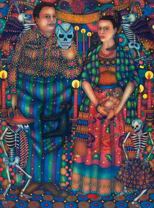 Frida Kahlo: The taste of Petrol and Porcelain   Interior design, Vintage Sets and Unique Pieces www.petrolandporcelain.com