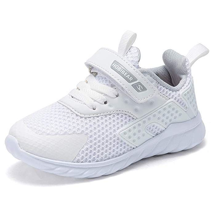 Hobibear Kids Running Shoes Outdoor Sneakers Athletic Shoes Fashion Shoes Toddler Boys Girls Review Kids Running Shoes Stylish Tennis Shoes Sneakers