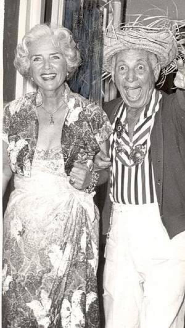 Harpo Marx And His Wife Susan I Love The Marx Brothers