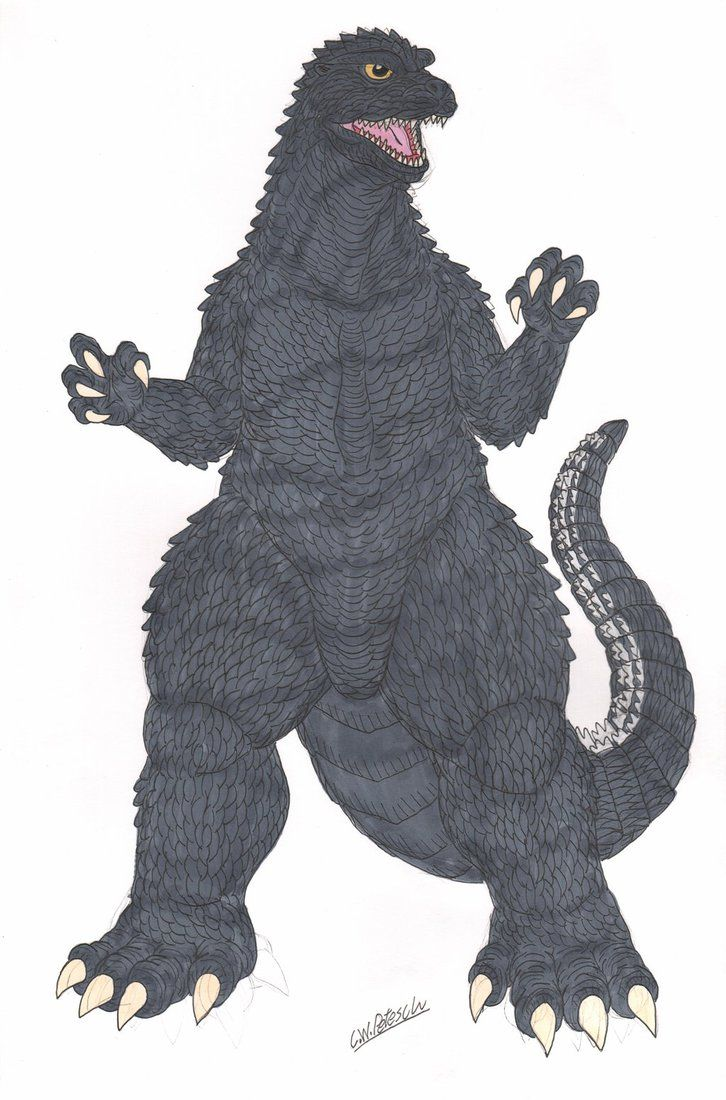 Future Godzilla Suit Design Color by cwpetesch.deviantart.com on @DeviantArt