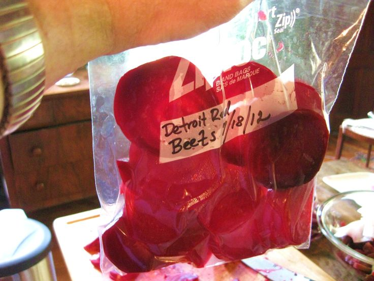 How I Freeze Beets  Kevin Lee Jacobs, A Garden for the House
