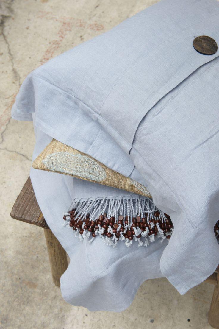 Meer dan 1000 ideeën over linnen kussens op pinterest   beddengoed ...