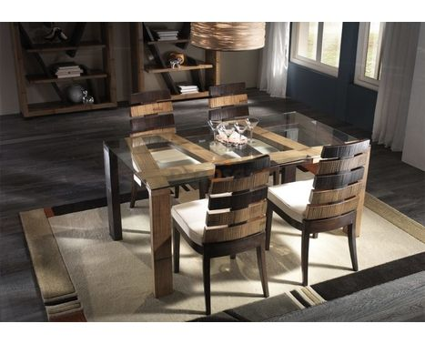 Sala Cross - tavolo e quattro sedie