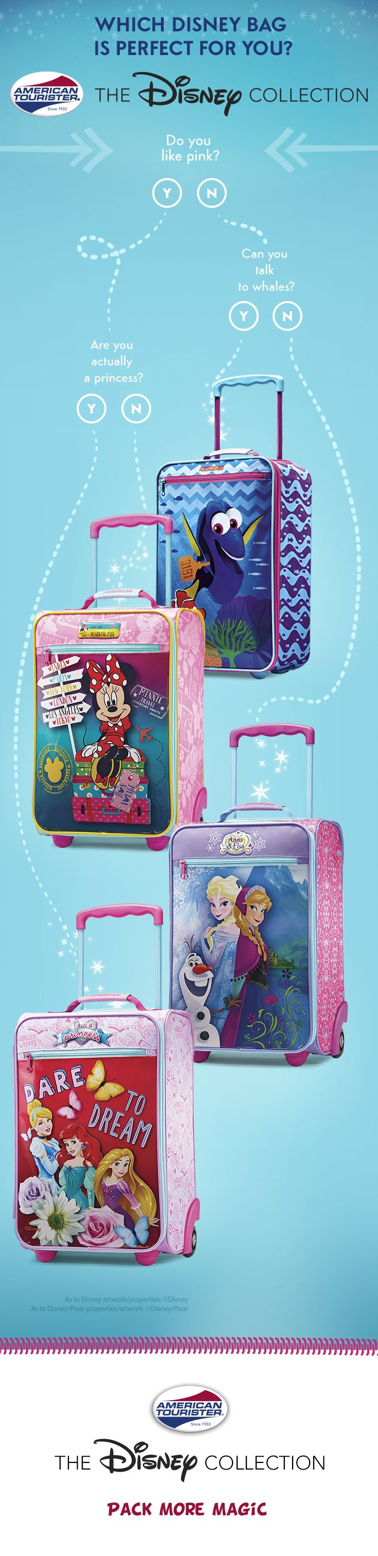Which Disney Kids' Bag is perfect for your next family vacation? Choose  from Minnie