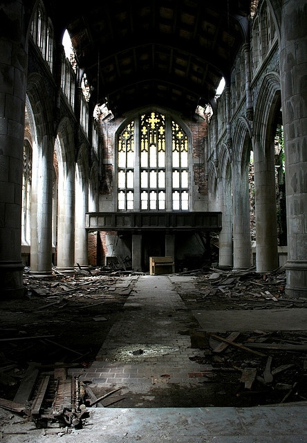 Lost | Forgotten | Abandoned | Displaced | Decayed | Neglected | Discarded | Disrepair |  church