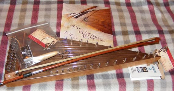 Bowed Psaltery  Handmade unique one-of-a-kind beautiful