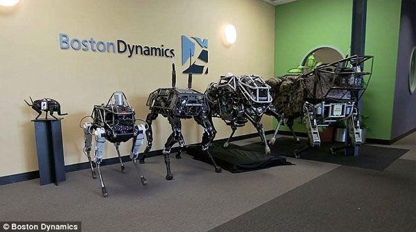 Robot Anjing Spot