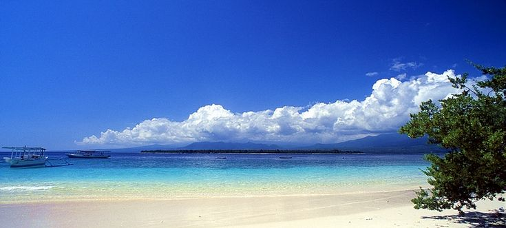 Gili Meno beach, Lombok, indonesia