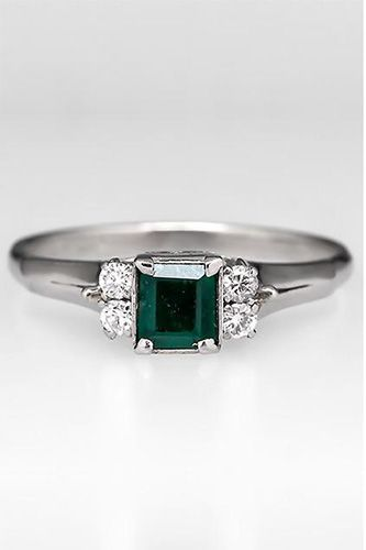 13 Vintage Engagement Rings That Have Totally Stolen Our Hearts #refinery29  http://www.refinery29.com/58439#slide2