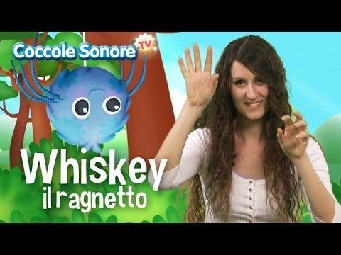 Whiskey il ragnetto - Canzoni per bambini di Coccole Sonore - YouTube