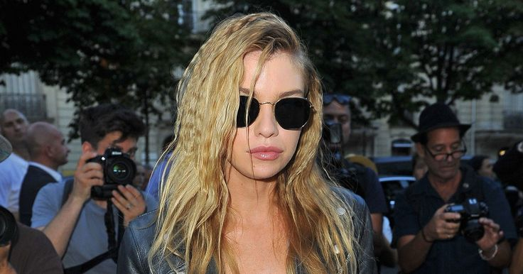 Stella Maxwell Gives Crimped Waves a Couture Makeunder