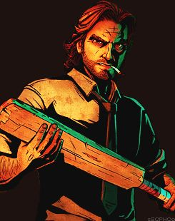 Hahaha not THIS paddle again.. #FuckingUpGeorgiesClubSinceEpisode..(Which one was that? O///o) |The Wolf Among Us