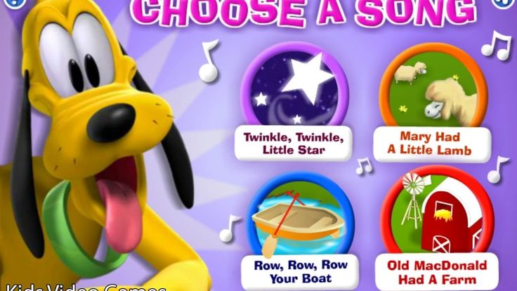 Mickey Mouse Clubhouse - Pluto's Musical Maze - Video for Children