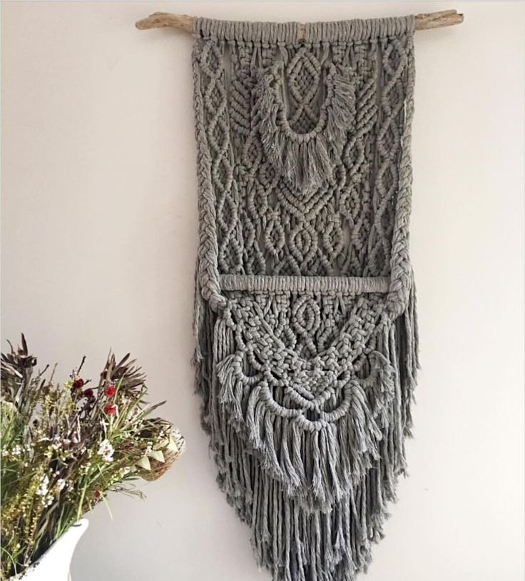 10 Influential Macrame artists on Instagram, featured on The Fiber Studio.