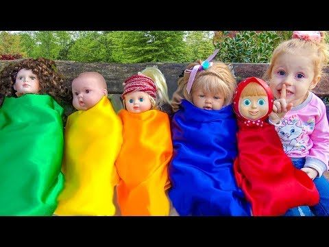 Peppa Pig playing on outdoor playground Nursery Rhymes Songs Family Fun with Jumping Peppa Toys - YouTube
