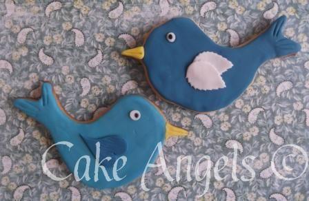Big Bluebird Cookies