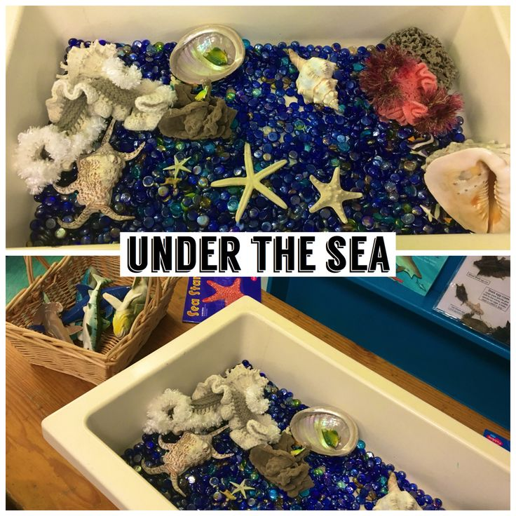 Under the sea creative play