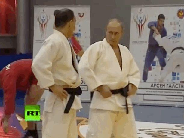 "Martial Arts Putin: | 15 Pictures That Prove Vladimir Putin Is Actually ""Career Barbie"""