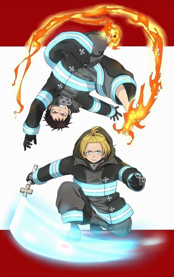 fireforce shinra arthur fanart