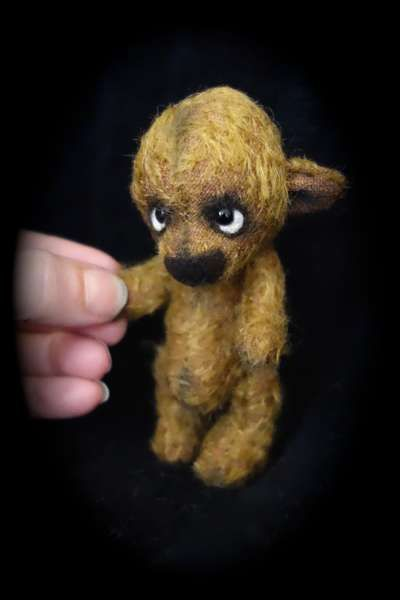 Dabble by By Lies & Lot Bears   Bear Pile. Love this bear, he looks like he has been naughty and is being told off.