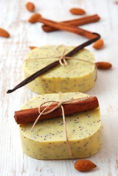 Seifenrezept: Mandelmilchseife mit Vanille