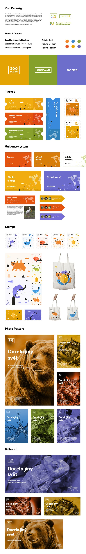 Cassandra cappello graphic design toronto - Pilsen Zoo Identity Redesign On Behance