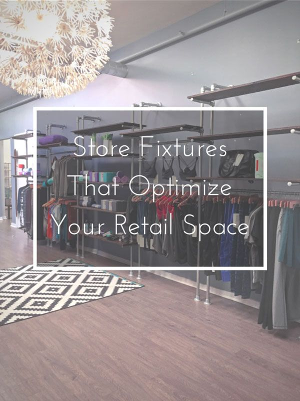 A lot of store fixtures out there are really not designed with the small store owner in mind. This results in an unprofessional look and crowded environment. It's a trap that many store owners fall into.