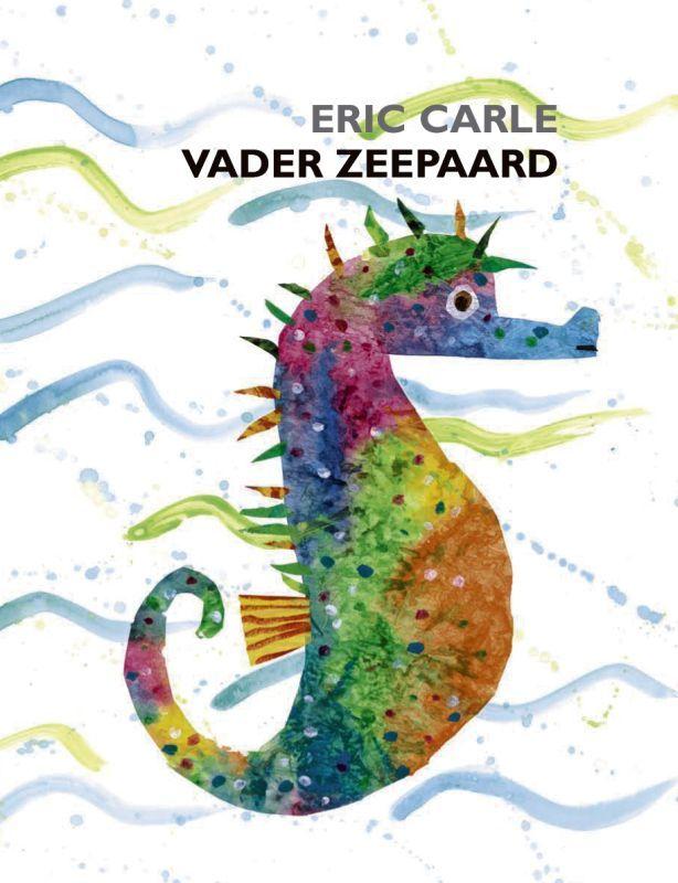 Vader Zeepaard in een groot formaat, waardoor de onderwaterwereld van Eric Carle nog beter tot zijn recht komt. Achter de beschilderde, transparante pagina's zitten allerlei vissen verstopt. De ritmische en rijmende tekst van Ivo de Wijs maakt voorlezen tot een feest.