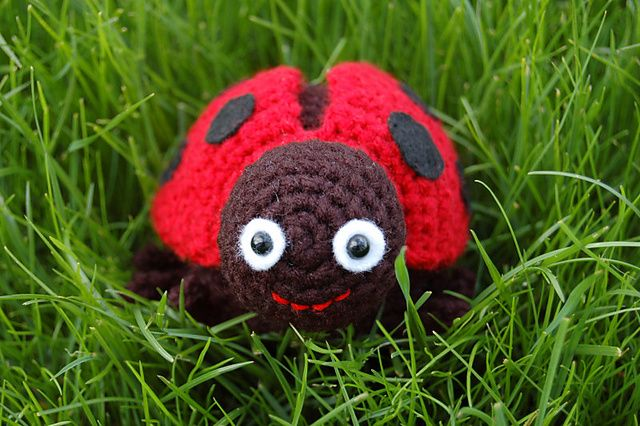 crochet ladybug pattern Ladybug (Crochet) Pinterest
