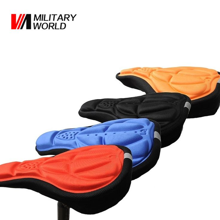Find More Bicycle Saddle Information about 1pc 3D Sponge Lycra Nylon Bike Bicycle Cycling Cycle Seatpost Seat Saddle Cover Soft Cushion For Road Mountain Bikes Parts ,High Quality saddle cover,China seat saddle Suppliers, Cheap saddle seat cushion from Mlitary World Store on Aliexpress.com