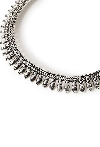 Etched Bib Necklace | FOREVER21