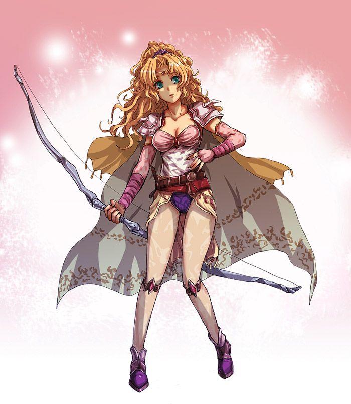 Tags Final Fantasy IV Rosa Farrell Pinterest