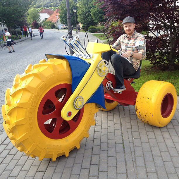 Big Wheels For Adults- only $600! i want one!