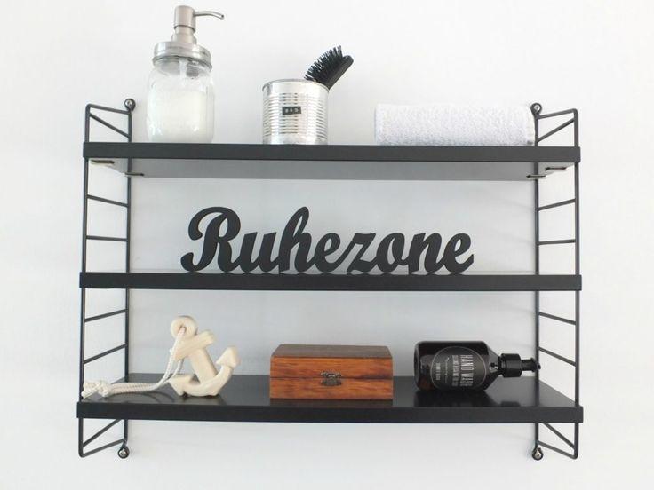 die besten 17 ideen zu regal schwarz auf pinterest wandregal schwarz schl sselrganizer und. Black Bedroom Furniture Sets. Home Design Ideas