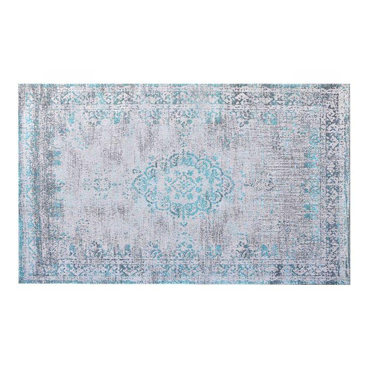 Medaillon karpet groen 170x240cm van het merk Brix! Shop je online en zonder verzendkosten bij deleukstemeubels.nl