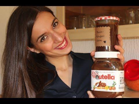 Nutella Rezept / Nachgemacht: Original trifft Sally & meine eigene Backsendung im TV ! - YouTube