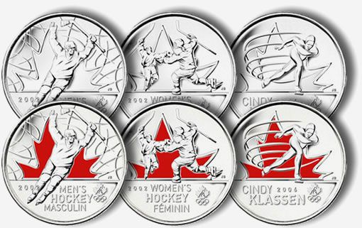Royal Canadian Mint's 2010 Olympic Coins (video).