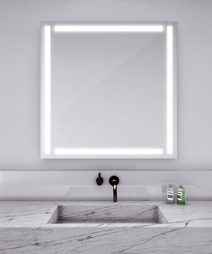 1000 Ideas About Mirror With Led Lights On Pinterest