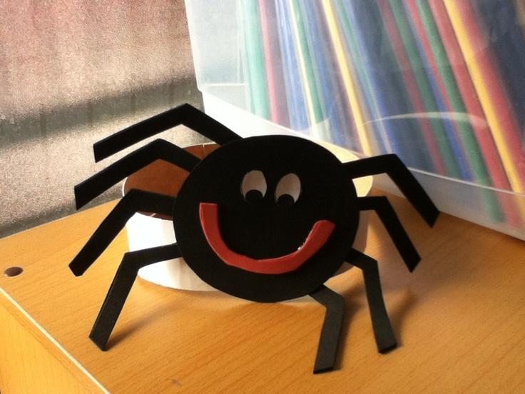 Araña hecha con la Javi !! @p0ps_