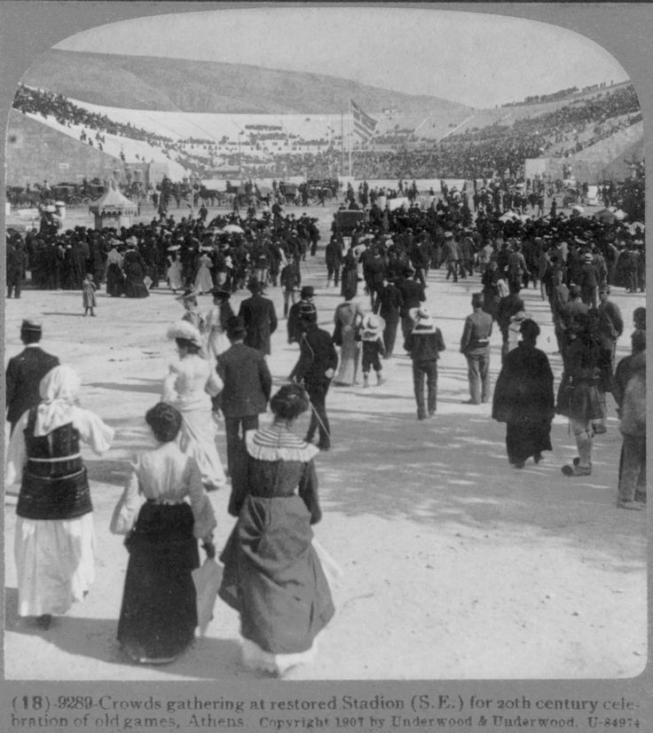 https://flic.kr/p/5Kg5VM | olymics athens l907 | from collection stereocards in Library of congress