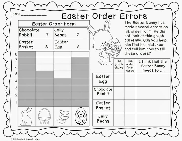 Easter Printable Worksheets