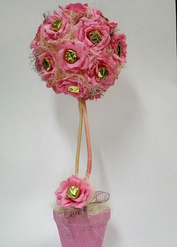 Návod na originální dárek: Růžičkový stromek