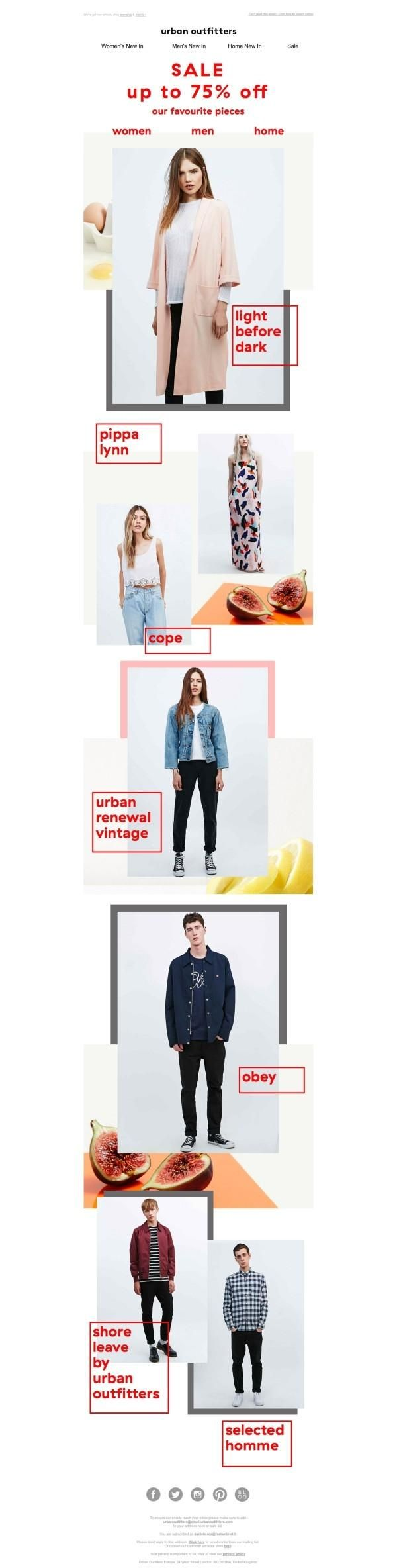 E-mail newsletter by Urban Outfitters March 2015 -  http://ebm.email.urbanoutfitters.co.uk/c/tag/hBVGBODA-QMoQB9AQohNsu7Ps1H/doc.html?t_params=EMAIL%3Ddaniele.roa%2540fastwebnet.it... - a grouped images picture - Pin Them All