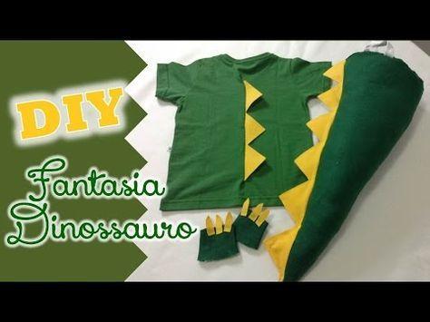DIY: Fantasia de dinossauro, Fran Santos, My Crafts and DIY Projects