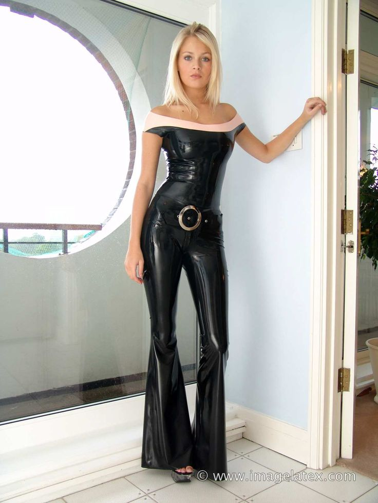 Latex top and trumpet pants. January 2011. Danielle from ...