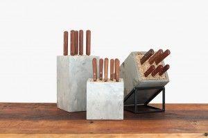 Konkret knife block collection from studio50.