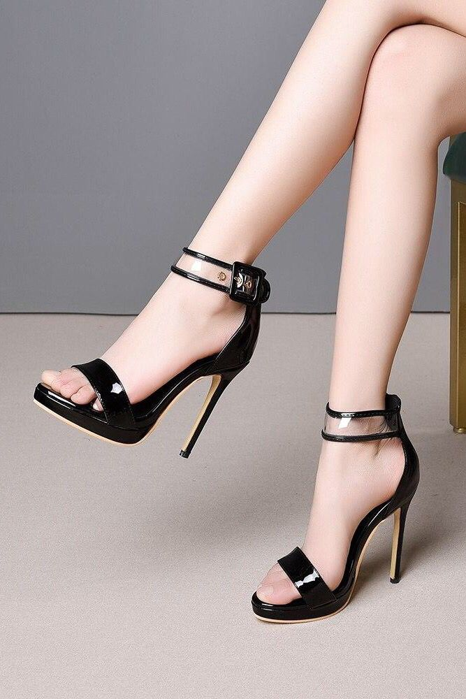 Womens Gladiator Rome Open Toe Multi-Strap Chunky Heels Pumps Party Club Sandals