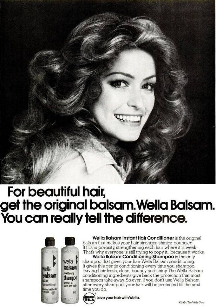 1976 - The Farrah Fawcett hairstyle was  every girl's dream.