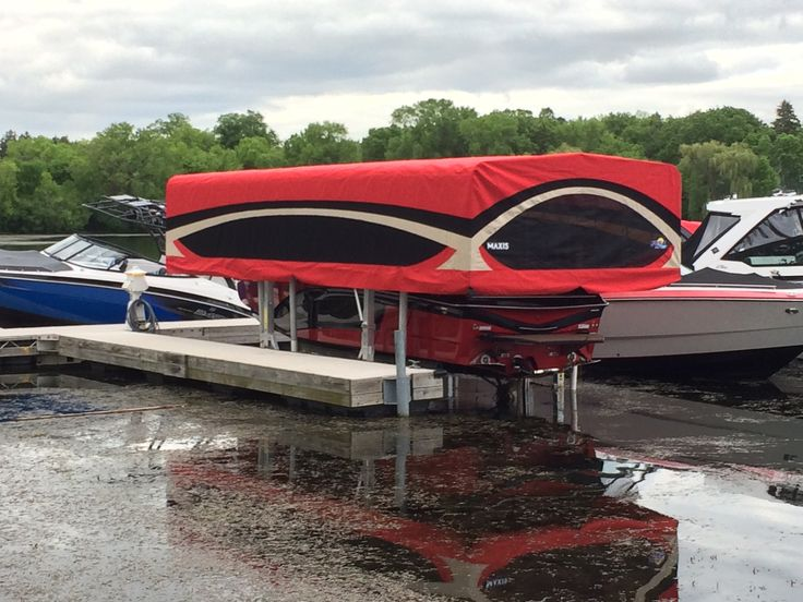 Boat Lift Canopy Systems for Vertical Boat Lifts (With ...